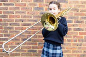 Daisy Hogan - Trombonist